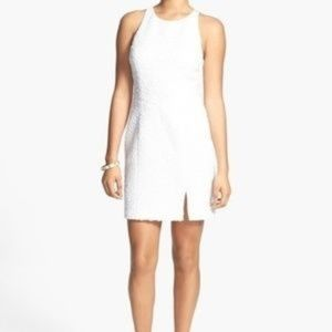 White Bodycon Dress Hailey Logan by Papell Size XS